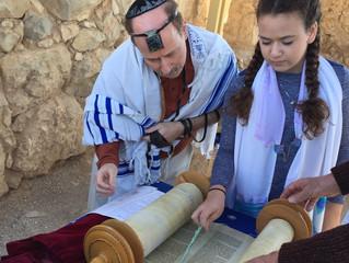 Bekah Winkler'sBat Mitzvah project
