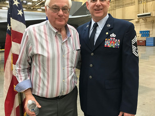 Chief Master Sergeant Neal A. Raben retires from the Air Force