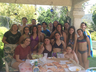 Youth groups annual pool parties