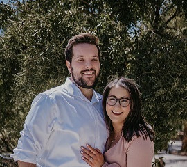 Jonathan and Dayna Eisen have been members of Midbar Kodesh Temple since their 2018 wedding, but the