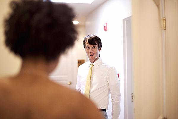 Meeting before wedding