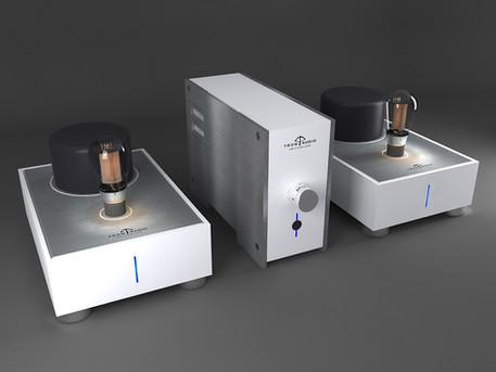 vaccuum tubes Audio amplifier