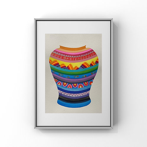 Ornate Jar