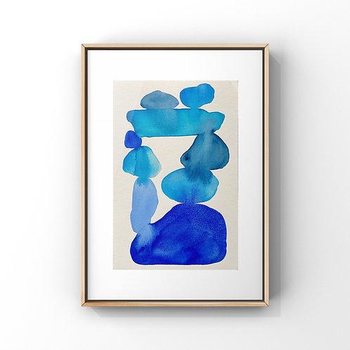 Blue Study 1