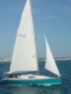 Velero prácticas de la Escuela Balear de Náutica