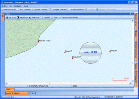 Módulo instructor simulador GMDSS
