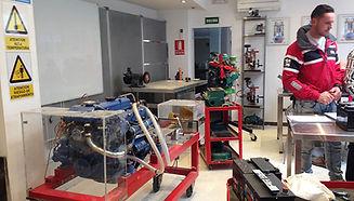 Curso mantenimiento motores marinos y electricidad