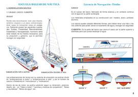 Pagina apuntes Nomenclatura Nautica Escuela Balear de Nautica
