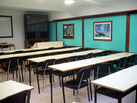 Aula de la Escuela Balear de Nautica