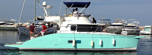 Catamarán a motor Patrón Embarcaciones Recreo PER