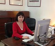 Vanessa secretaria de la Escuela Balear de Náutica