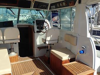 Barco a motor prácticas Patrón Embarcaciones Recreo PER