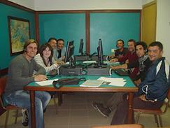 Alumnos de Radio Operador titulaciones náuticas