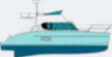 Catamarán para prácticas Títulos Náuticos