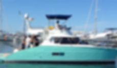 Catamaran practicas navegacion 24 horas.