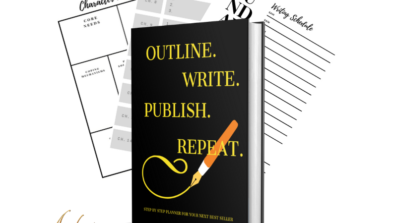 Outline. Write. Publish. Repeat-Planner