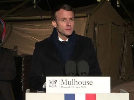 """Emmanuel Macron annonce un plan d'aide """"massif"""" à l'hôpital public"""