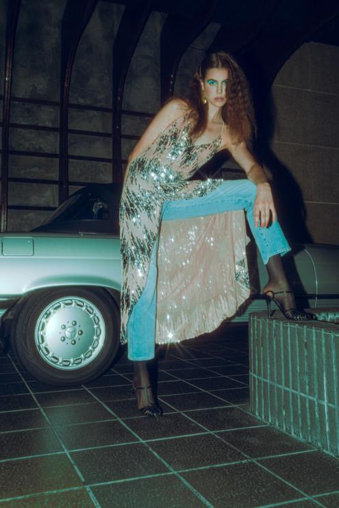 PHOTO & STYLING // CARINA YAU  HAIR // DANIELLE ABBOTTS  MAKEUP // LETICIA BISHOP  MODEL // ALEXA P @ QUEST