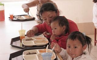 comedor para niños y niñas en la ciudad de México