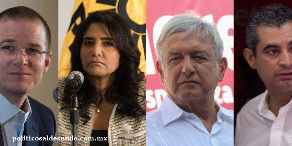 Presidentes de partidos en México  2017