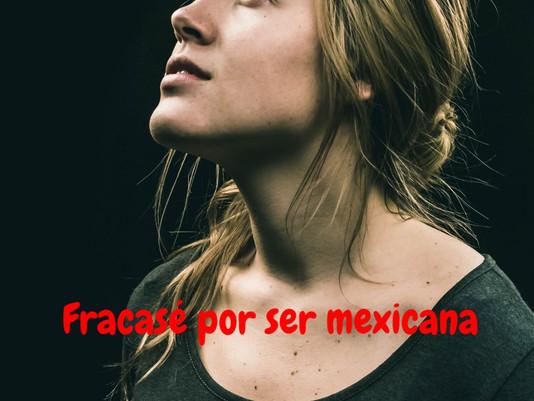 He fracasado porque así somos los mexican@s...