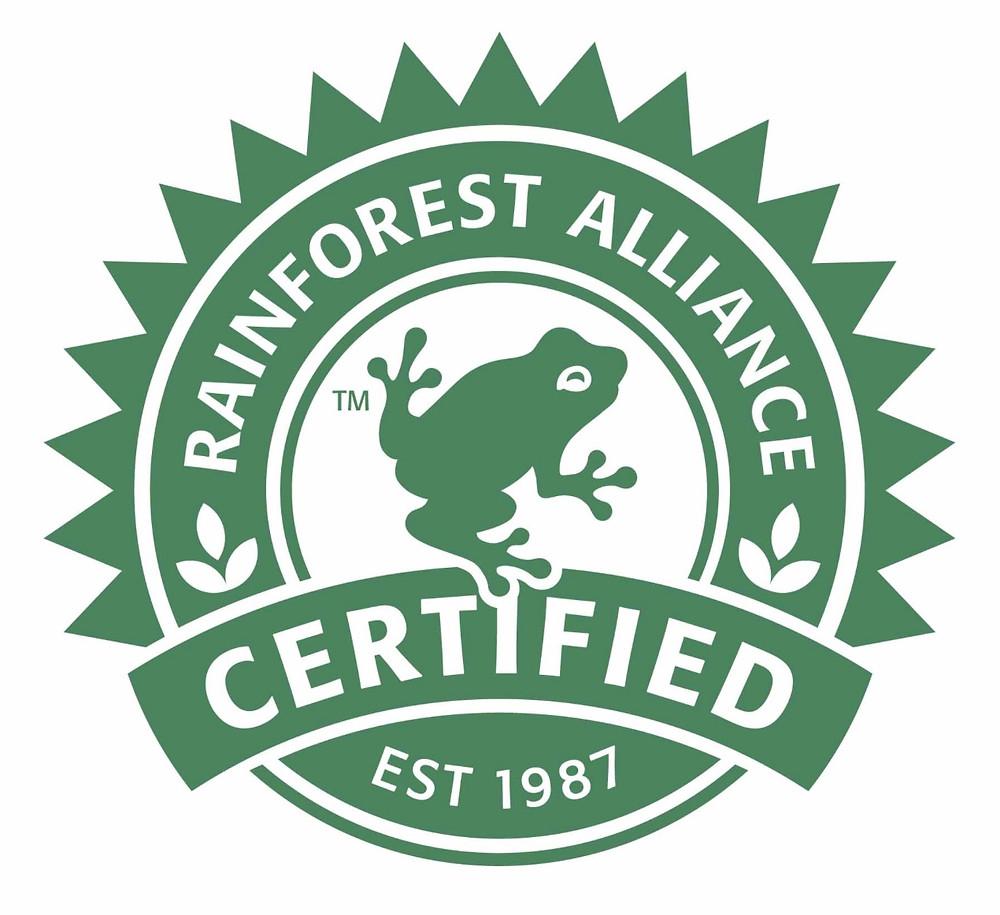 rainforest alliance seal chocolate
