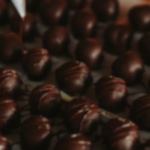 Vegan Organic Chocolate Truffle