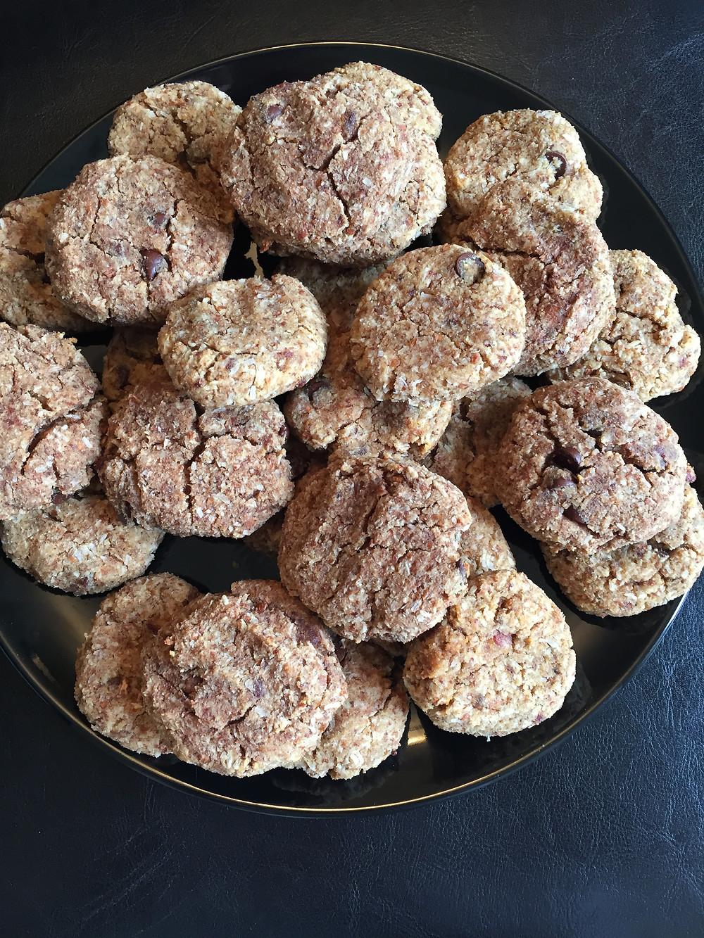 Chocolate Almond Dream Cookies by Hooray Truffles