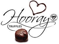 Hooray logo black - with truffle & heart