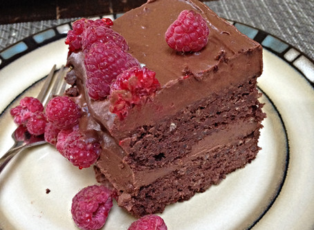 Our Favourite  Chocolate Quinoa Cake