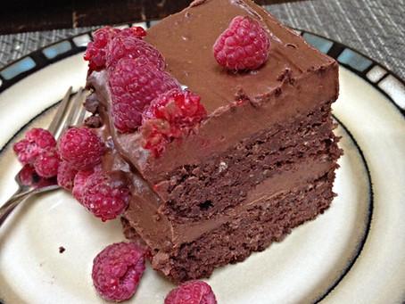 Our Favourite  Chocolate Quinoa Cake