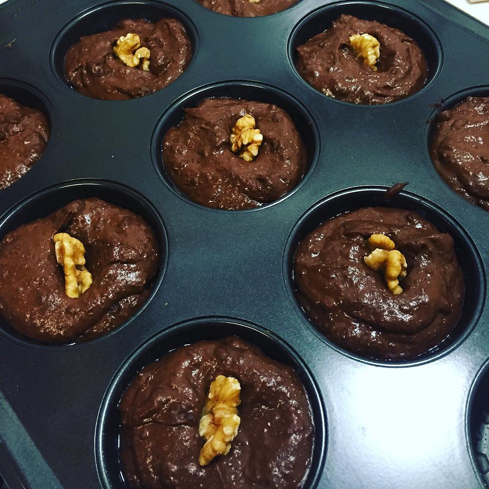 blackbean brownies by Hooray Truffles