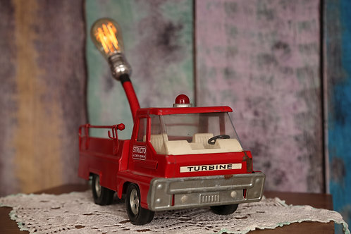 Structo Fire Truck Lamp