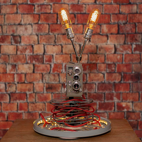 Nizo 8mm Movie Camera Lamp with LEDs thru out the bottom