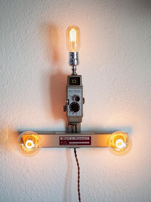 Bell & Howell Camera and Lightbar Wall Light