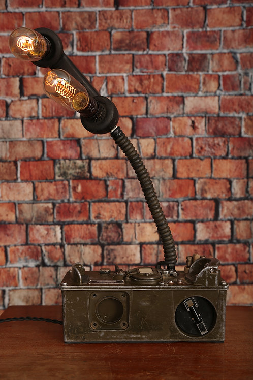 Military Field Phone Touch Lamp that Dims