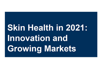 White Paper - Skin Health in 2021: Innovation and Growing Markets