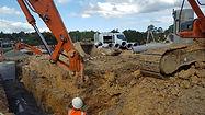 Stromwater pipe installation 15 burtons