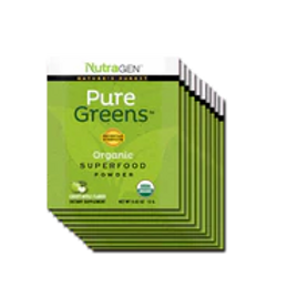 15 Pure Greens Travel Packets – Apple