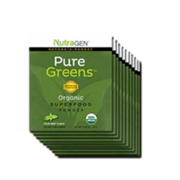 15 Pure Greens Travel Packets – Fresh Mint