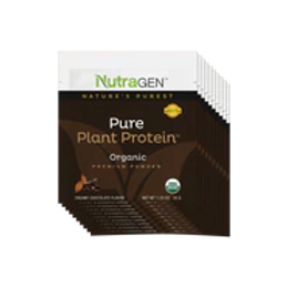 15 Pure Plant Protein Travel Packets – Chocolate