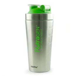 NutraGen Stainless Steel Shaker Bottle