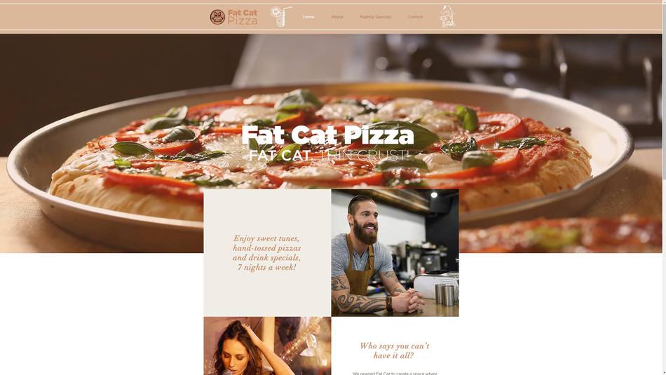 FAT CAT PIZZA