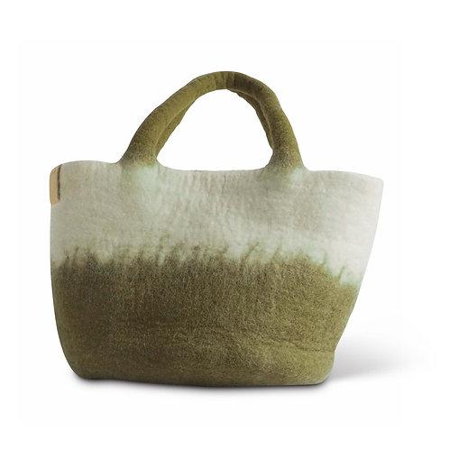 TAŠKA - Wool Bag, Olive