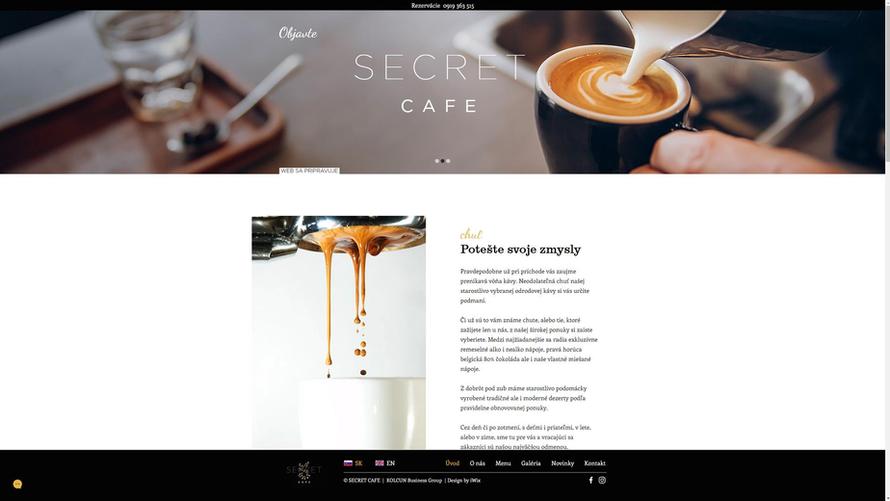 SECRET CAFE - Slovakia