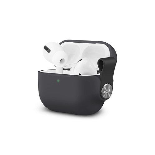 Pebbo, pouzdro pro AirPods Pro s ochranou LintGuard ™ - Černé