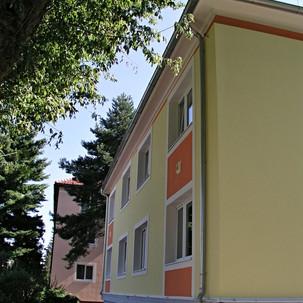 Fasáda a přístavba Zvláštní MŠ Uherské H