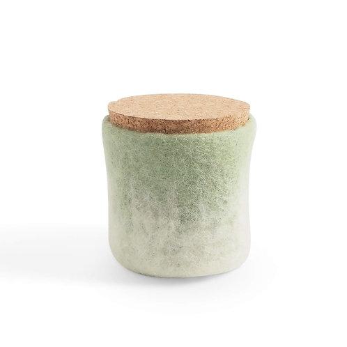NÁDOBA - Jar, Sage green