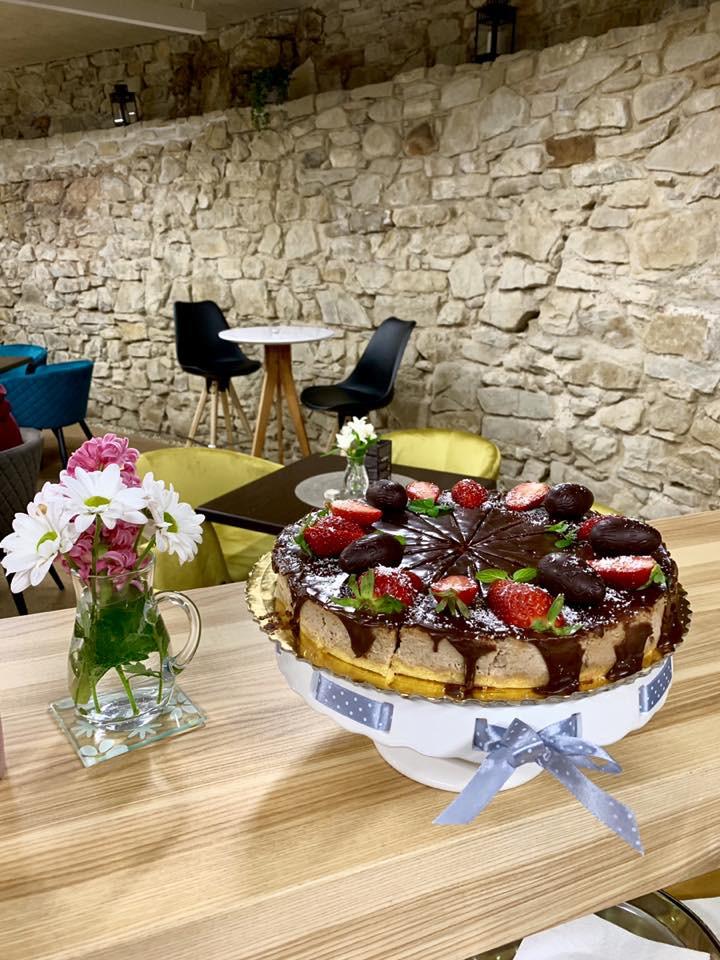 Secret Cafe Bardejov - Jahodový cheesecake