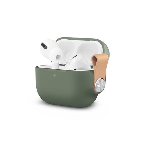Pebbo, pouzdro pro AirPods Pro s ochranou LintGuard ™ - Mátově zelené